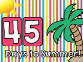 Countdown to Summer Display