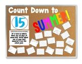 Countdown to Summer (Last 15 days of school)
