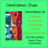 Countdown to Summer Paper Chain