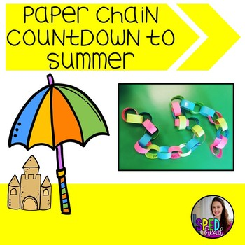 Countdown to Summer Paper Chains