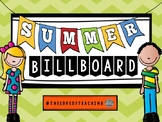 Countdown to Summer Printable Billboard