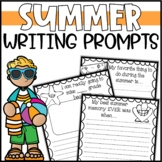 Countdown to Summer Writing Prompts & Page Topper Craftivities