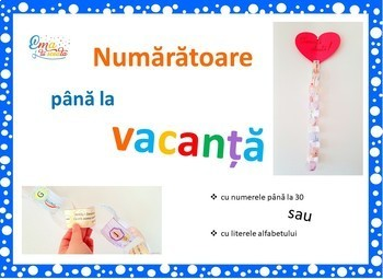 Countdown to Summer in Romanian Language
