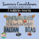Countdown to Summer with these 2 FREE Bulletin Boards!