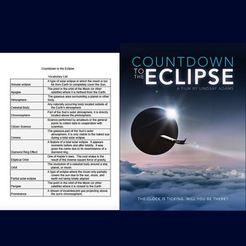 Grid Reference Worksheets Word Th Grade Astronomy Movie Guides Resources  Lesson Plans  Polyatomic Ionic Formula Writing Worksheet Word with Adding To 10 Worksheet Pdf Countdown To The Eclipse Documentary Vocabulary List Pre Or Post Movie Area And Perimeter Worksheets Grade 4 Pdf