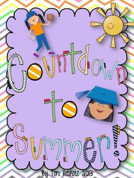 End of the Year Countdown! {fun ideas and activities}
