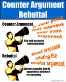 Counter Argument Rebuttal Poster