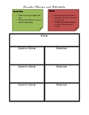 Counter Claim and Rebuttal Organizer