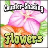Counter-Shading Flower Art Project