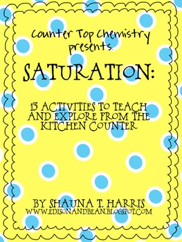 Counter Top Chemistry Presents: Saturation