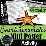 Counterexamples Activity; Geometry, Logic, Distance Learning