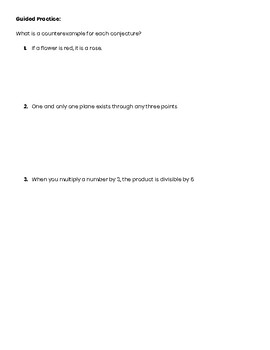 Counterexamples Guided Notes