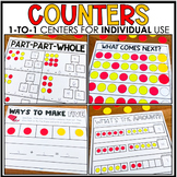 Counters 1:1 Centers for Individual Use