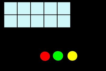 Counters and 10 frame Manipulative
