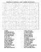 Counties and County Seats in SC Crossword & Word Search w/KEYS