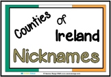 Counties of Ireland Nicknames