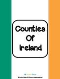 Counties of Ireland Worksheets