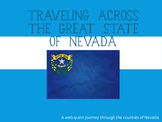 Counties of Nevada Web Quest Activity - 4th Grade Social Studies County Project