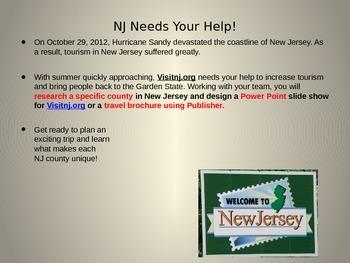 Counties of New Jersey Webquest