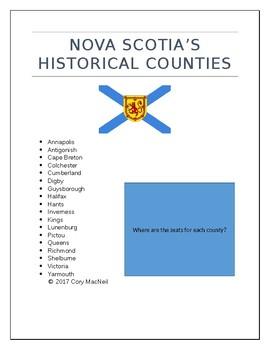 Counties of Nova Scotia