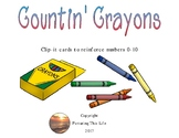 Countin' Crayons Clip-its 0-10