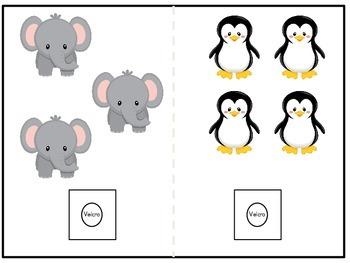 Counting 0-10 Animal Theme