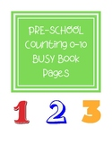 Counting 0-10 Busy Book Pages
