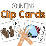 Counting 0-10 Clip Cards