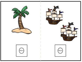 Counting 0-10 Pirate Themed Book