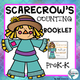 Counting 0-10 with Scarecrow, Fall Counting Dollar Deal