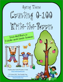 Counting 0-100 (Spring Theme): Write the Room