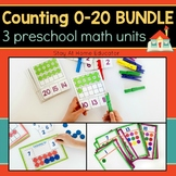 Counting 0-20 Preschool Math Bundle