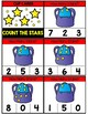 Counting 0-20 Clip Cards: STARS