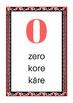 Counting 0-20 English, te reo Māori and Cook Islands Māori