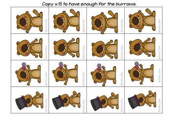 Counting 0-20 (Groundhog Day Theme)