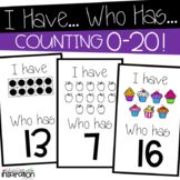 Counting 0-20 I Have Who Has