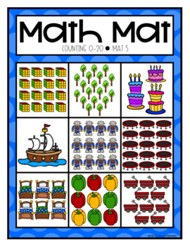 Counting 0-20 Math Mats by Education and Inspiration