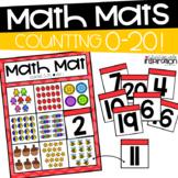 Counting 0-20 Math Mats