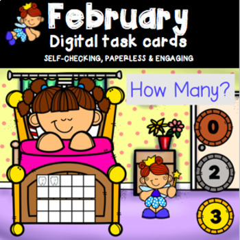 Counting 0 - 20 Using Ten Frames Power Point Game (Tooth Fairy theme)