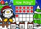 Counting 0 - 20 Using Ten Frames Power Point Game (Santa Theme)