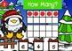 Counting 0 - 20 Using Ten Frames Power Point Game (Santa Theme)