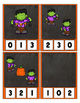Counting 0 to 20 Frankie Frankenstein Clip Cards Math Cent
