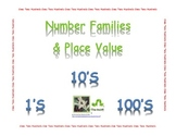 Counting 0 to 99 by Families for Place Value