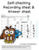 Counting 1:1 School  Supplies Power Point Game