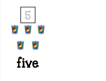 Counting 1-10 Adapted Books