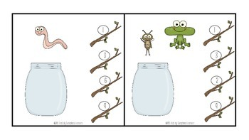 Counting 1-10: Bug Jar Count & Clip Cards