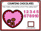 Counting 1-10 Chocolate Candy for Google Drive and Google Classroom
