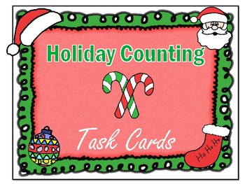 Counting 1 to 10: Christmas-themed