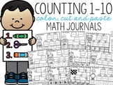 Counting 1-10 Color, Cut, and Paste Math Journal