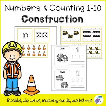 Counting 1-10 - Construction